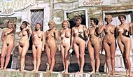 Young boys at nudist camps