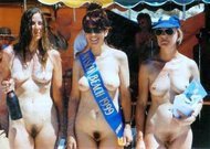Vintage Miss nude contest