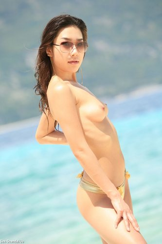 Korean playboy model nude