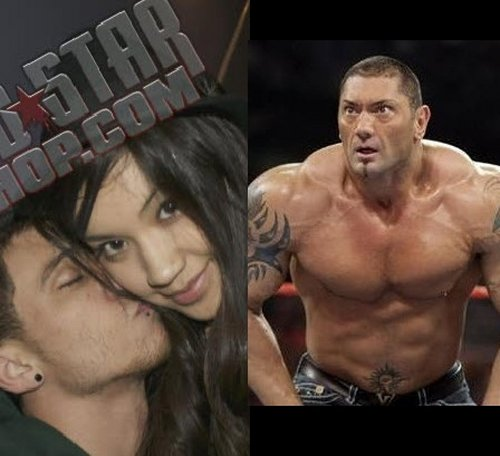WWE Superstar Dave Batista's 18-Year-Old Daughter Athena Sextape!