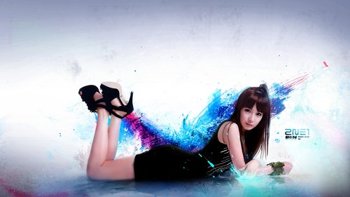 foto-park-bom-2ne1-wallpaper