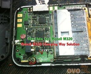 Câu Chân Sạc Mobell M320 Charging Way Solution