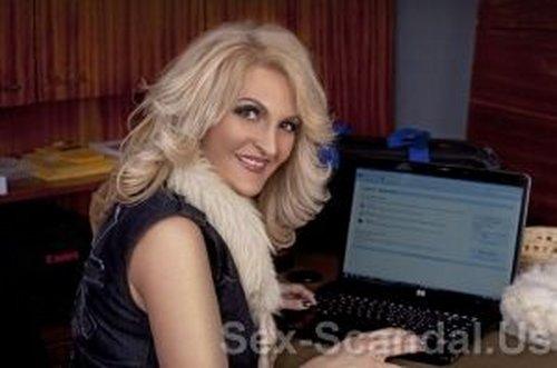 Svetlana Terzieva Sesil Bulgarian TV personality Sex Tape