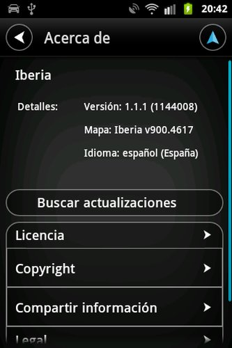 Tomtom Iberia [1.1.1 b11] [+Carpeta Iberia Mapas 900-4617][ANDROID][Instalar y Navegar]