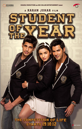 Student Of The Year 2012 Hindi 300mb Free Download