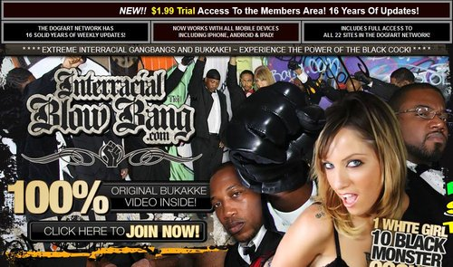 Download InterracialBlowbang.com – SITERIP Free