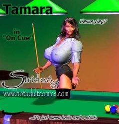 Tamara - in on Cue